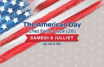 **The American Day** dans votre concession Ford SAS Paris-Brest !