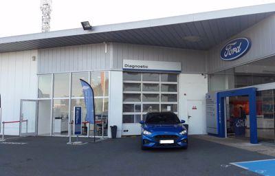 Ford Courtoise Automobiles (Groupe Jallu Berthier) a racheté les sites Ford de Péronne (80) et de Saint-Quentin (02) le 01 Juillet 2019
