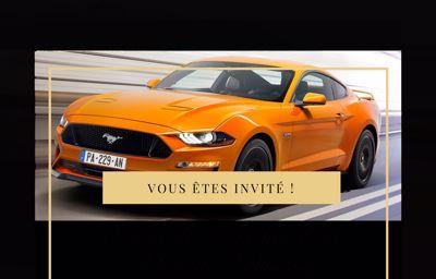 Afterwork : Présentation Nouvelle **Ford Mustang**