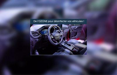 De **l'Ozone** pour désinfecter vos véhicules !