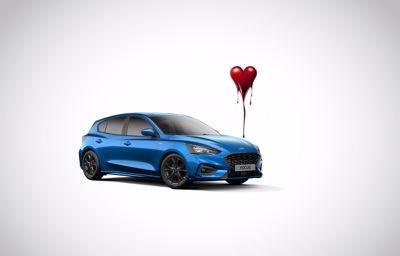 Vivez une belle Saint-Valentin au volant de la Nouvelle Ford Focus !