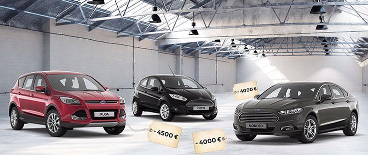 Les offres de printemps chez Ford Soissons