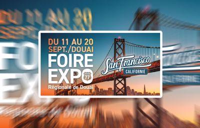 Venez participer à la Foire Expo régionale de Douai !