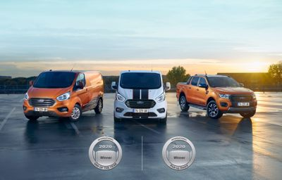 Véhicule Utilitaire de l'année et Pick-up de l'année 2020 : Ford réalise le doublé en Europe
