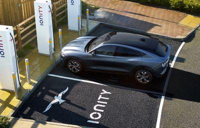 Mustang Mach-E : un an d'accès gratuit au réseau IONITY pour profiter de la conduite 100% électrique