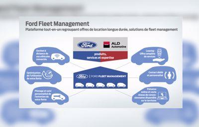 Ford et ALD Automotive lance une nouvelle activité de gestion de flotte en Europe