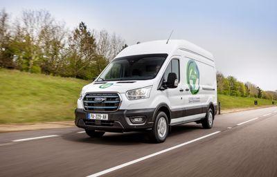 Ford annonce le début d'un programme d'essais européens pour le nouveau E-Transit 100% électrique