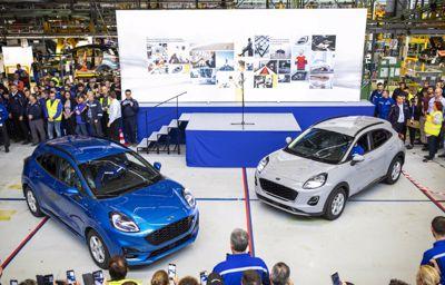 Le nouveau Ford Puma débute sa production, vive le nouveau Puma !