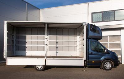 **Ford propose une version châssis-cabine de son Transit grande capacité (L5) pour répondre aux exigences des transporteurs internationaux**