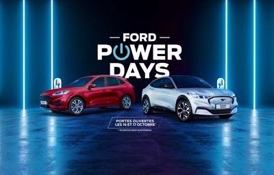 Essayez les énergies du futur pendant les Ford Power Days