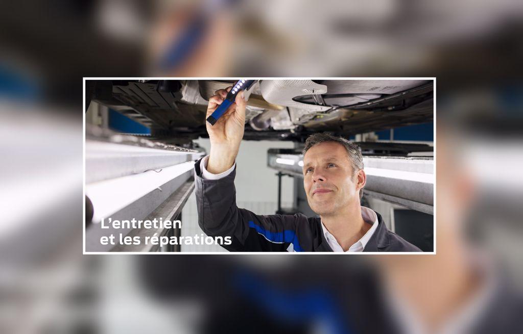 L'entretien et les réparations
