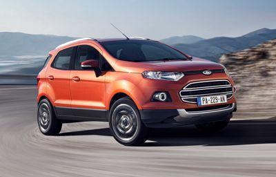 Le nouveau Ford Ecosport met le paquet pour vous réchauffer pendant l'hiver !