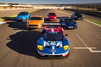 8 véhicules Ford Performance + 8 pilotes GT = une course épique