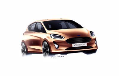 Design de la nouvelle Ford Fiesta