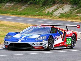 La Ford GT de course pour la première fois en France ce week-end !