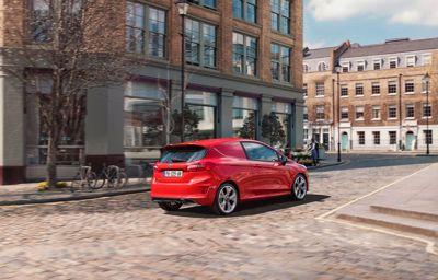 Nouvelle Fiesta Van : le petit utilitaire élégant, compact et connecté à destination des professionnels