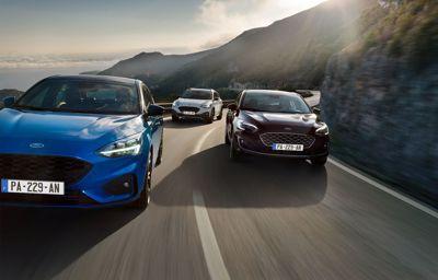 La nouvelle Ford Focus brille elle aussi par ses nouvelles étoiles