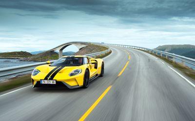 La Ford GT : l'une des plus belles routes d'Europe