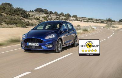Confort et sécurité de la nouvelle Ford Fiesta