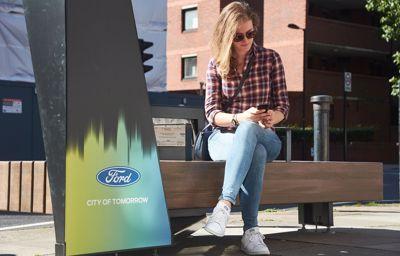 À Londres, le mobilier urbain ultra-connecté s'installe grâce à Ford