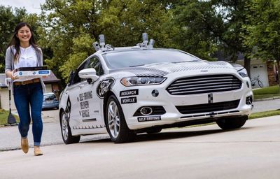 Demain, vos pizzas pourraient être livrées par des véhicules autonomes Ford