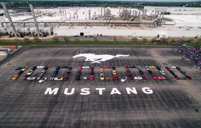 L'iconique Ford Mustang passe le cap des 10 millions d'exemplaires produits