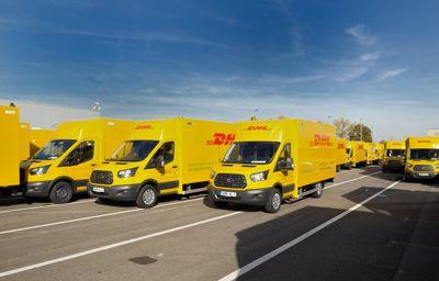 Ford et Deutsche Post DHL lancent la production d'un fourgon de livraison 100% électrique