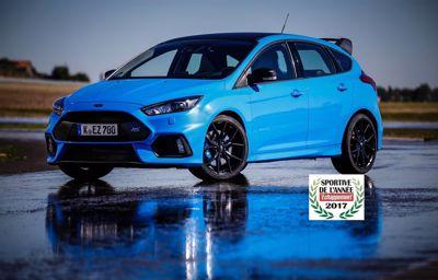 La Focus RS Pack Performance fait de Ford la marque la plus titrée.