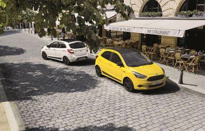 Ford lance de nouvelles déclinaisons bicolores de sa citadine Ka+ Color Edition.