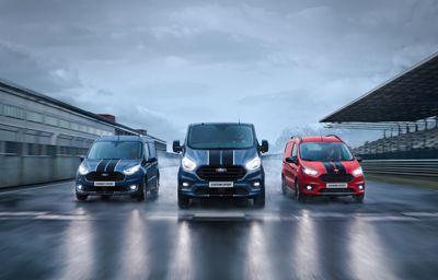 La gamme Ford Transit Sport s'enrichit d'un nouveau moteur encore plus puissant