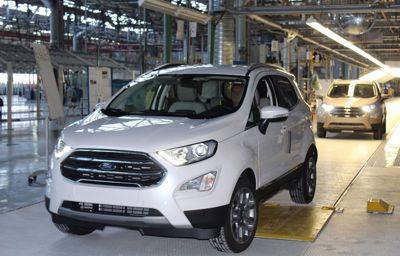 Nouveau Ford EcoSport : démarrage de la production en Europe