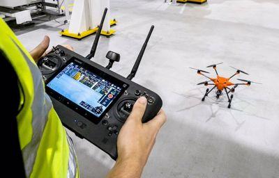 Des drones pour sécuriser l'inspection des usines Ford !