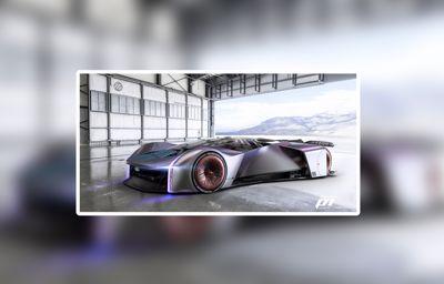 Gamescom : la Team Fordzilla dévoile la voiture de course virtuelle ultime