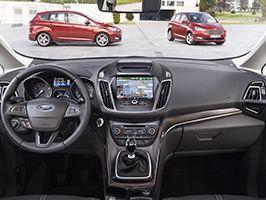 Les nouveaux Ford C-MAX et Grand C-MAX intègrent plus de technologies