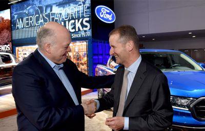 Ford Motor Company et Volkswagen AG dévoilent leur alliance stratégique mondiale