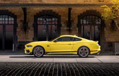 Ford présente la nouvelle Mach 1, la Mustang de série la plus puissante jamais proposée en Europe