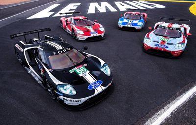Ford célèbre l'histoire des 24 Heures du Mans avec des livrées spéciales pour ses GT