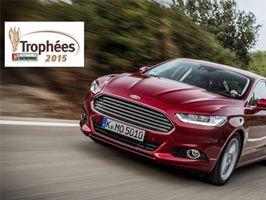 Ford Mondeo reçoit le Prix de voiture de l'Année 2015 en entreprise du magazine L'Automobile & L'Entreprise