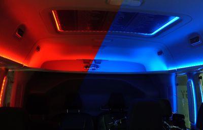 Rouge ou bleu ? L'éclairage de l'habitacle peut améliorer l'autonomie des véhicules électriques