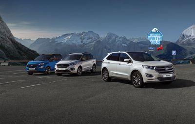 Ford part au ski dans 6 stations des Alpes pour faire essayer ses derniers SUV et 4x4