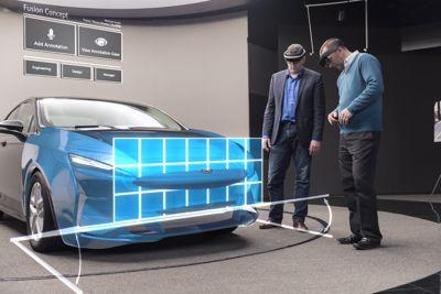 Microsoft HoloLens et Ford : réalité mixte et design