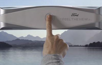 Ford dévoile un vitrage intelligent pour les personnes aveugles et malvoyantes