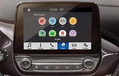 Waze débarque sur les écrans des véhicules Ford