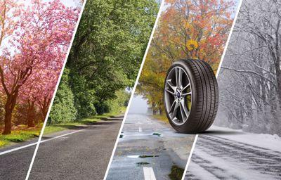 Le 2ème pneu toutes saisons à moitié prix*