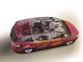 Ford S-MAX és Galaxy: ötcsillagos NCAP törésteszt