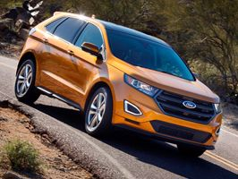 A Ford Edge európai modellváltozata a Frankfurti Autószalonon mutatkozik be
