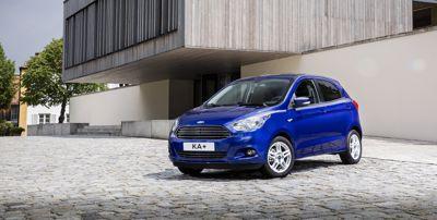 A vadonatúj Ford KA+