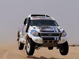 A Ford gőzerővek készül a Dakarra