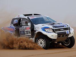A Ford Racing csapata folyamatosan tréningezik a Dakarra