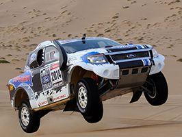 A Ford jó eredménnyel végzett a 2014-es Dakar Rallyn